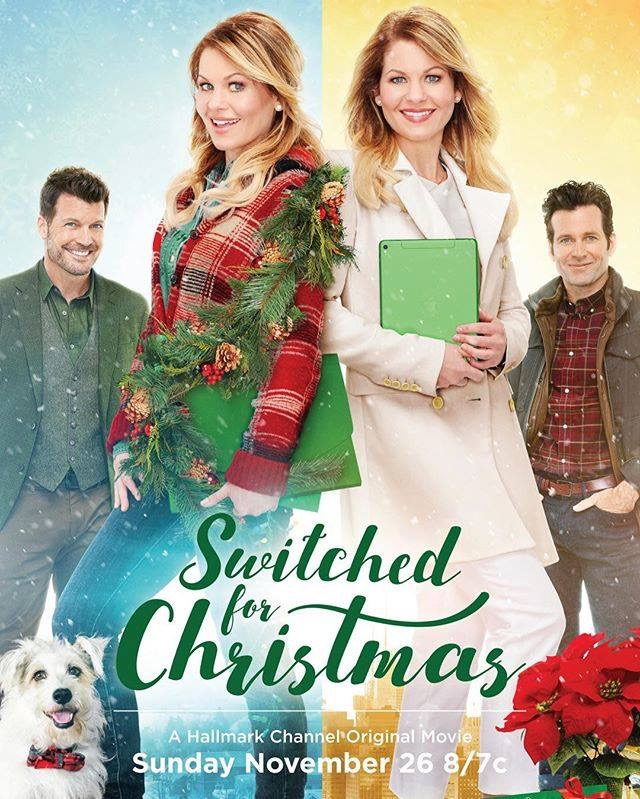 "Review: ""Switched For Christmas""-Hallmark Holiday Movies 2017"